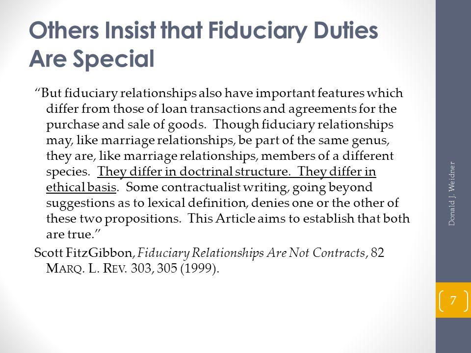 Actions to Enforce Duties and Obligations (cont d) Official Comments, Comment 4 (R.U.P.A.