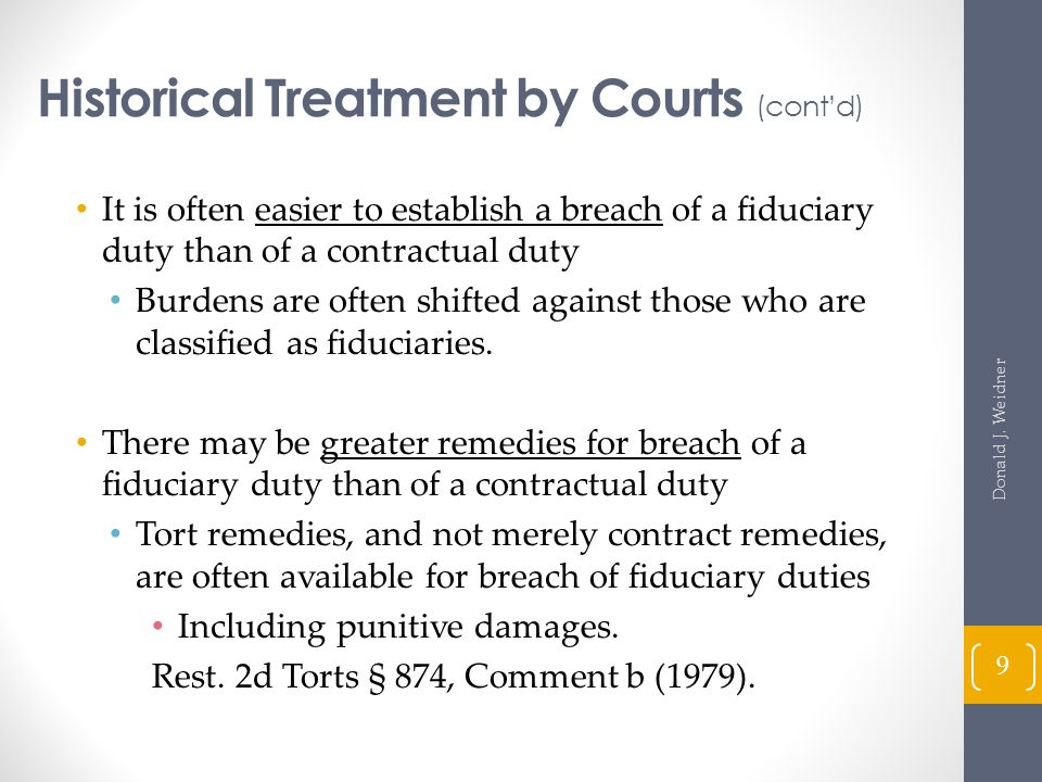Fiduciary Duties In Partnerships Florida's Enactment of the Revised Uniform Partnership Act Jewel v.