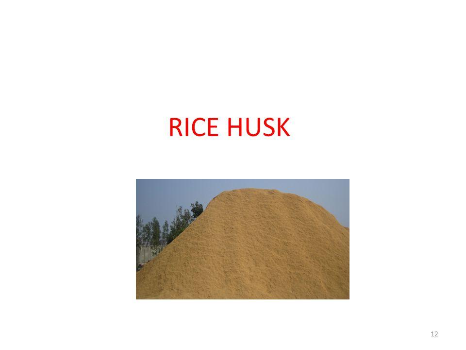 RICE HUSK 12