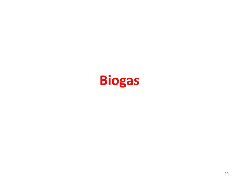 Biogas 20