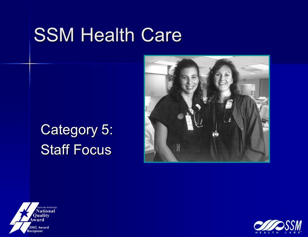 SSM Health Care Category 5: Staff Focus