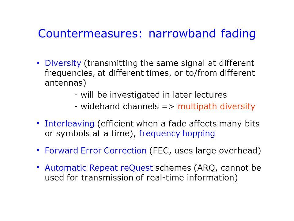 Bit interleaving Transmitter Channel Receiver Bits are interleaved...