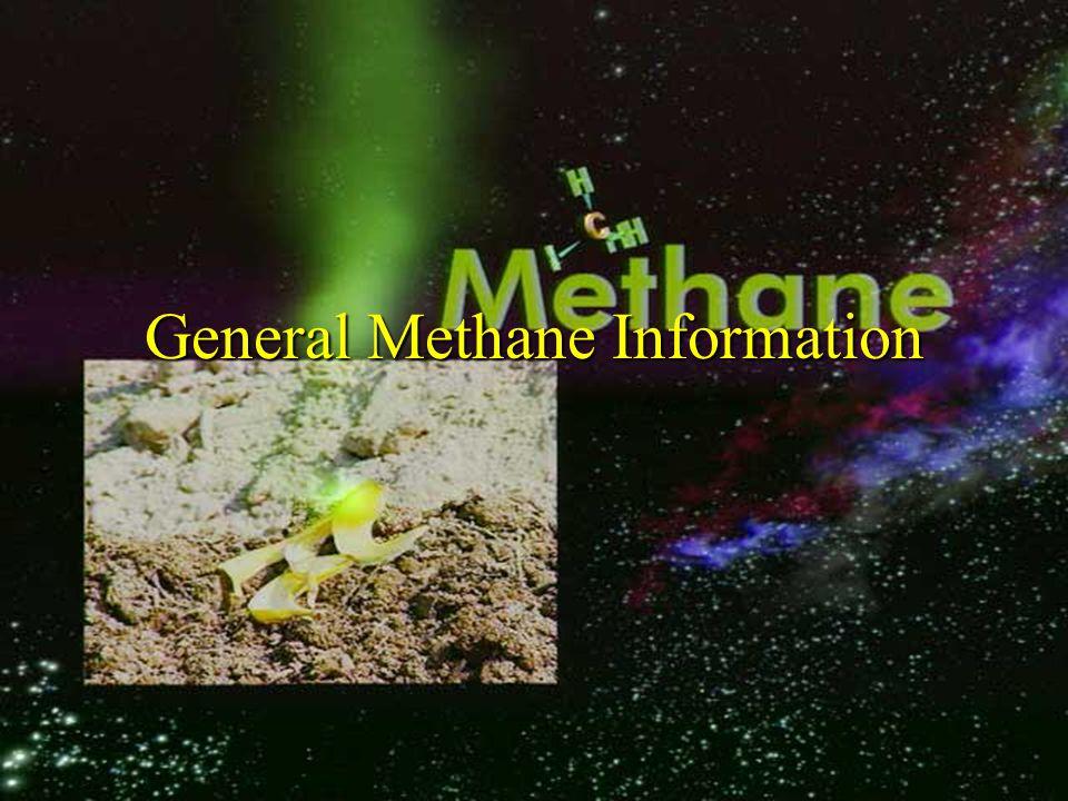General Methane Information