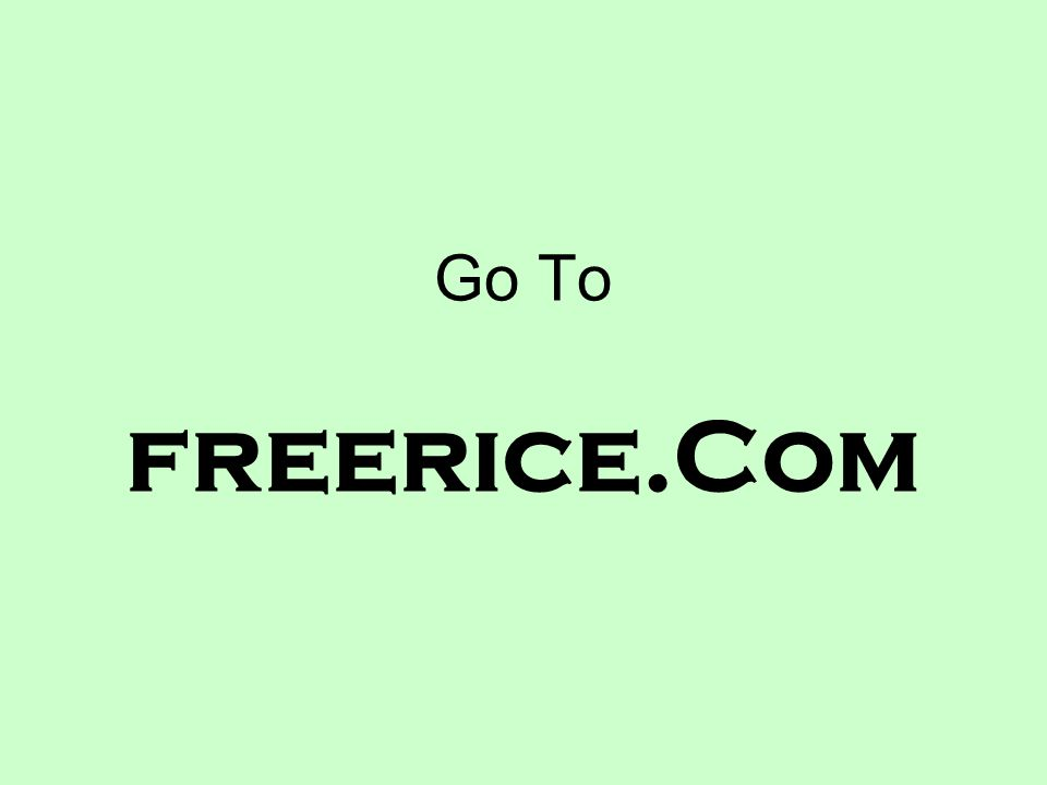 Go To freerice.Com