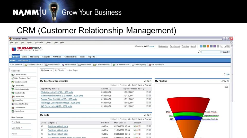 drice@omacro.com 24 CRM (Customer Relationship Management)