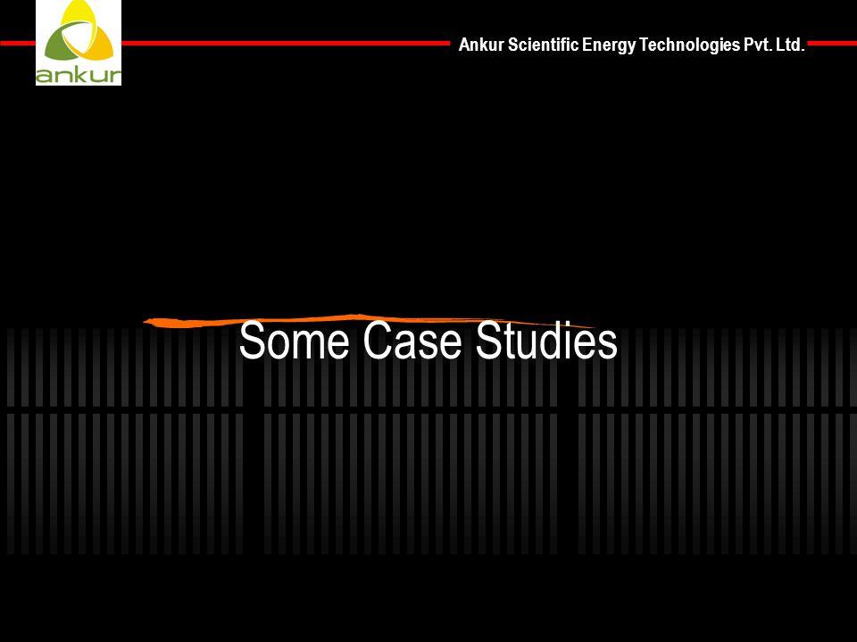 Ankur Scientific Energy Technologies Pvt. Ltd. Some Case Studies