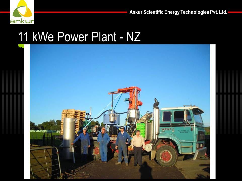 Ankur Scientific Energy Technologies Pvt. Ltd. 11 kWe Power Plant - NZ