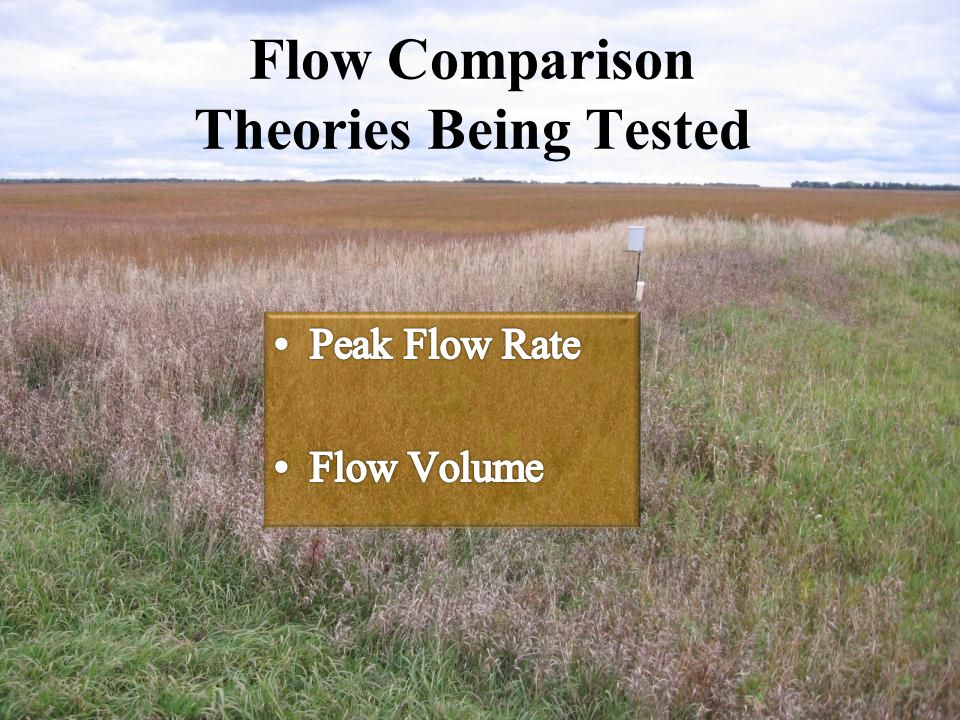 Flow Comparison Theories Being Tested
