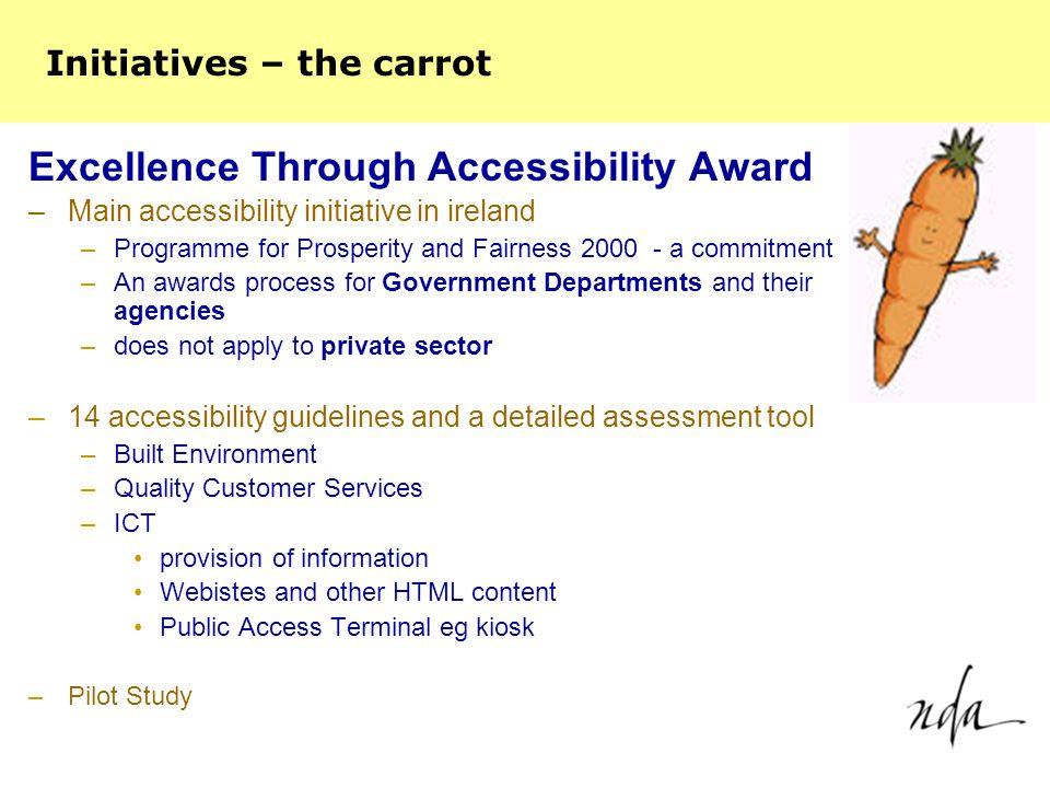 Excellence Through Accessibility Award Committed to Accessibility Quality in Accessibility Excellence in Accessibility