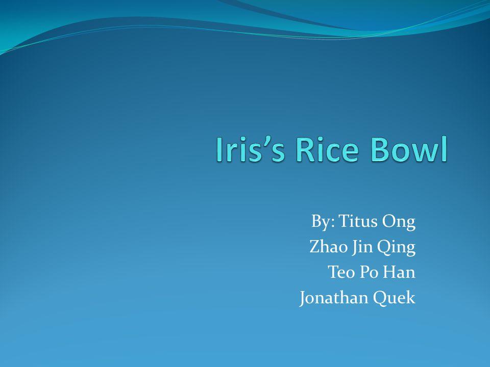 By: Titus Ong Zhao Jin Qing Teo Po Han Jonathan Quek
