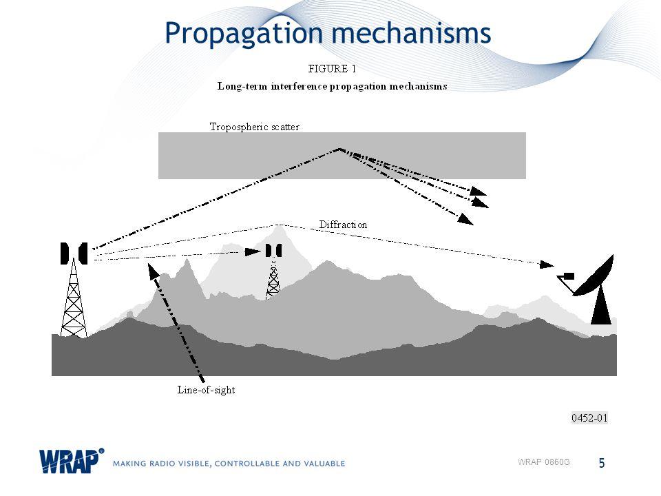 Propagation mechanisms 5 WRAP 0860G