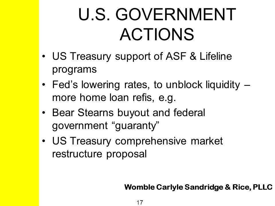 Womble Carlyle Sandridge & Rice, PLLC 17 U.S.