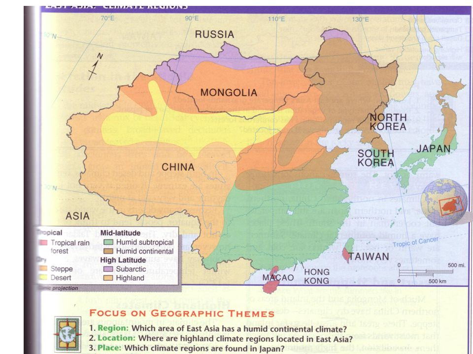 Korea – ruling family, then military rulers, then conquered by Mongols.