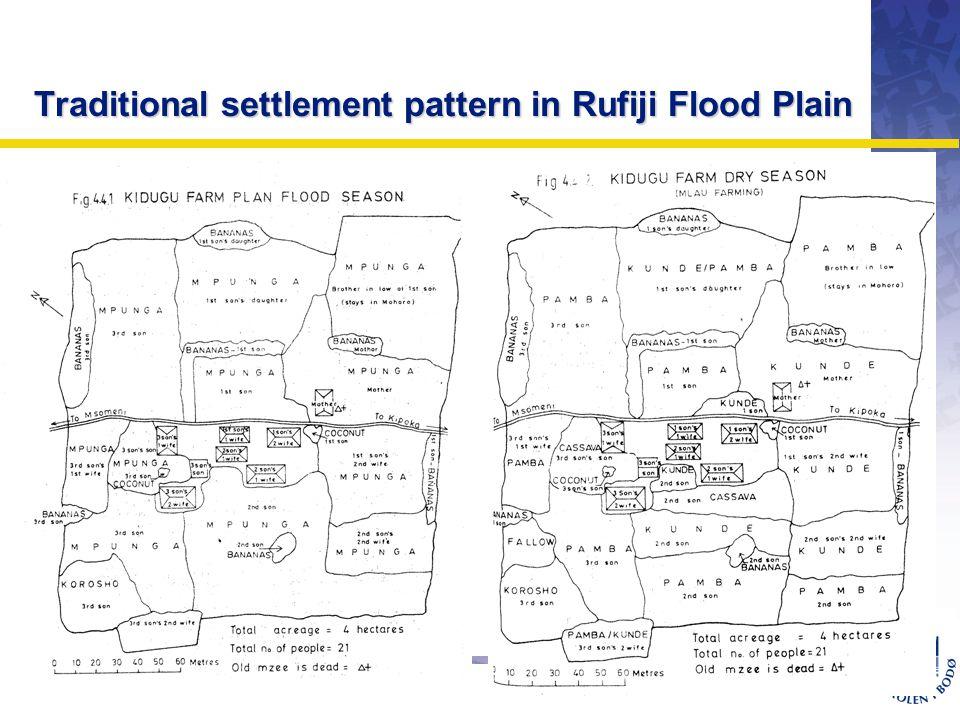 OMJ-98 Traditional settlement pattern in Rufiji Flood Plain