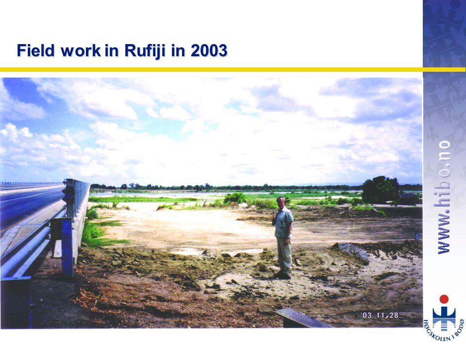 OMJ-98 Field work in Rufiji in 2003