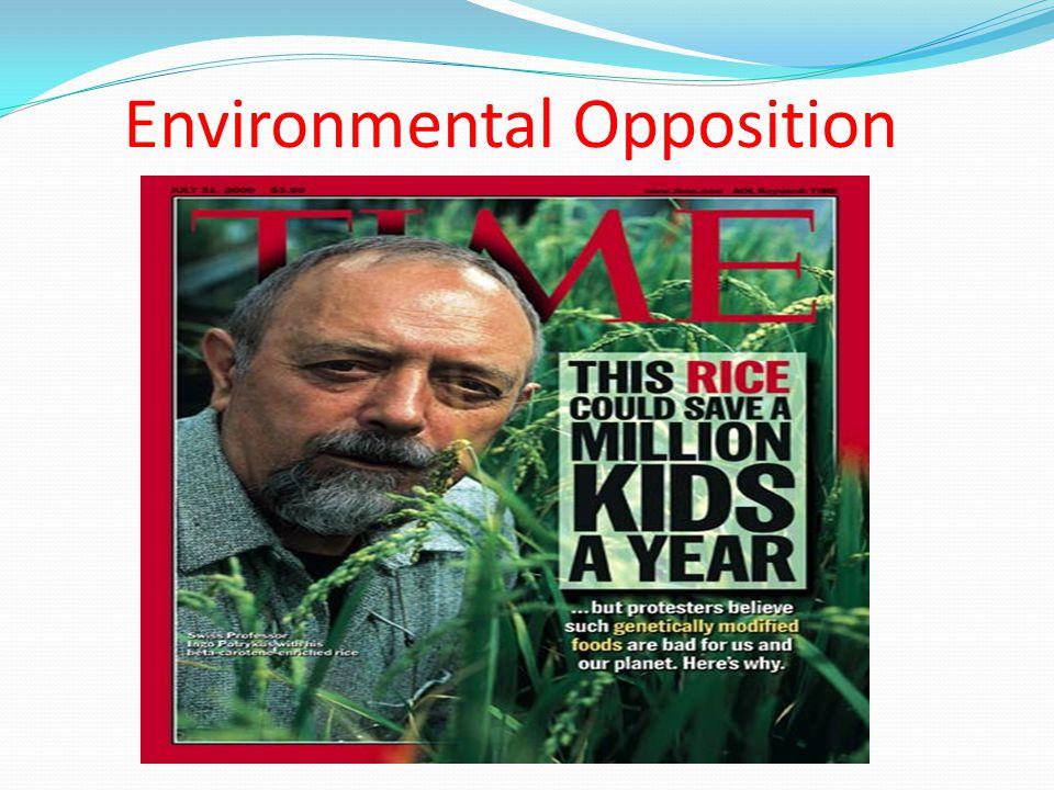 Environmental Opposition
