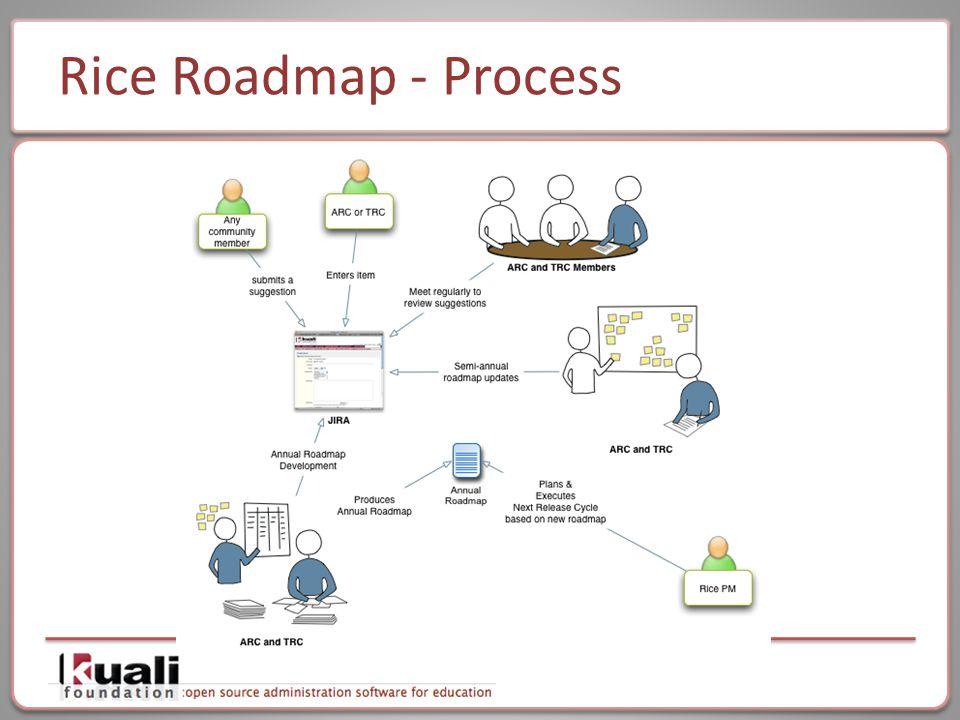 Rice Roadmap - Process