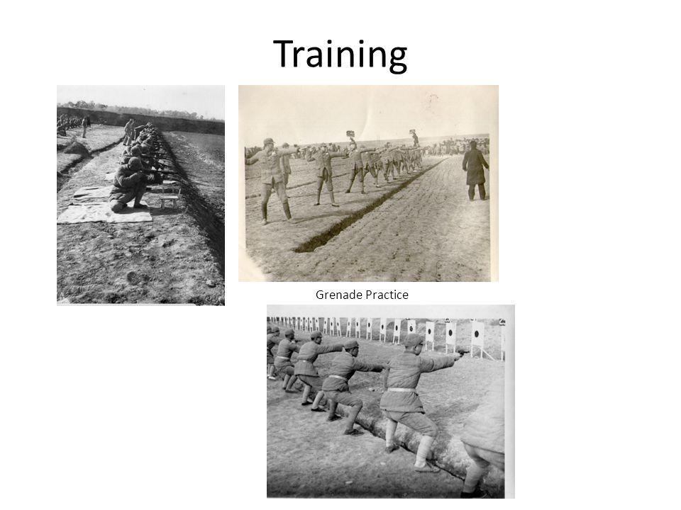 Training Grenade Practice