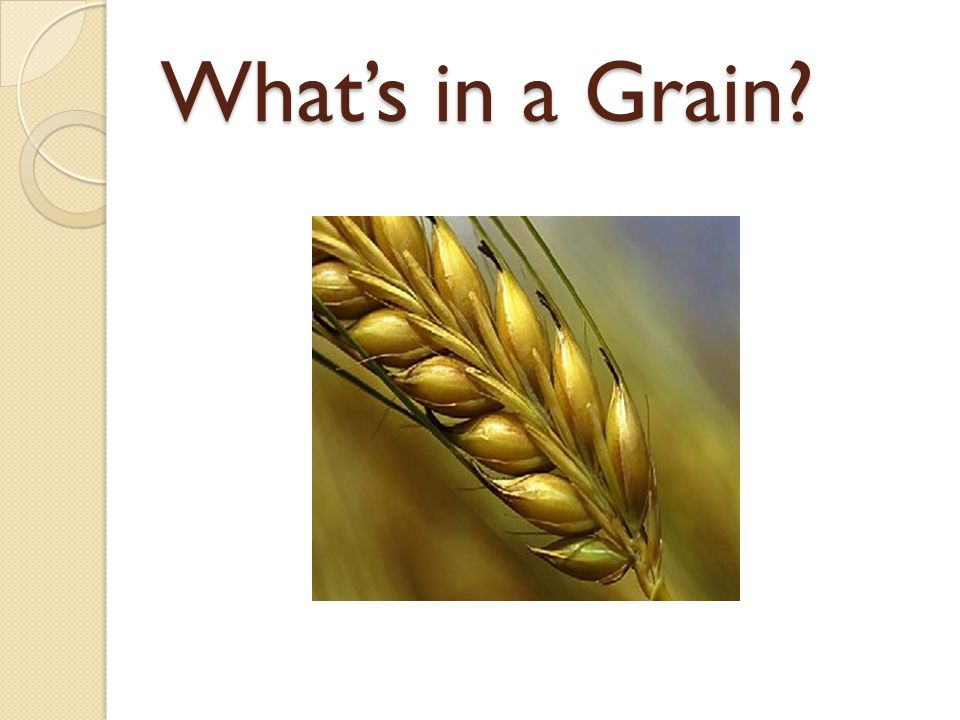 Wheat has ears.Wheat berries grow at the top of the wheat plant.