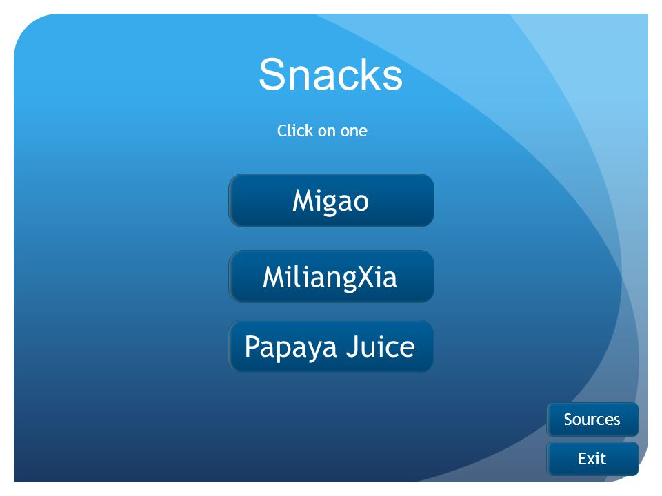 Migao MiliangXia Papaya Juice Snacks Click on one Sources Exit