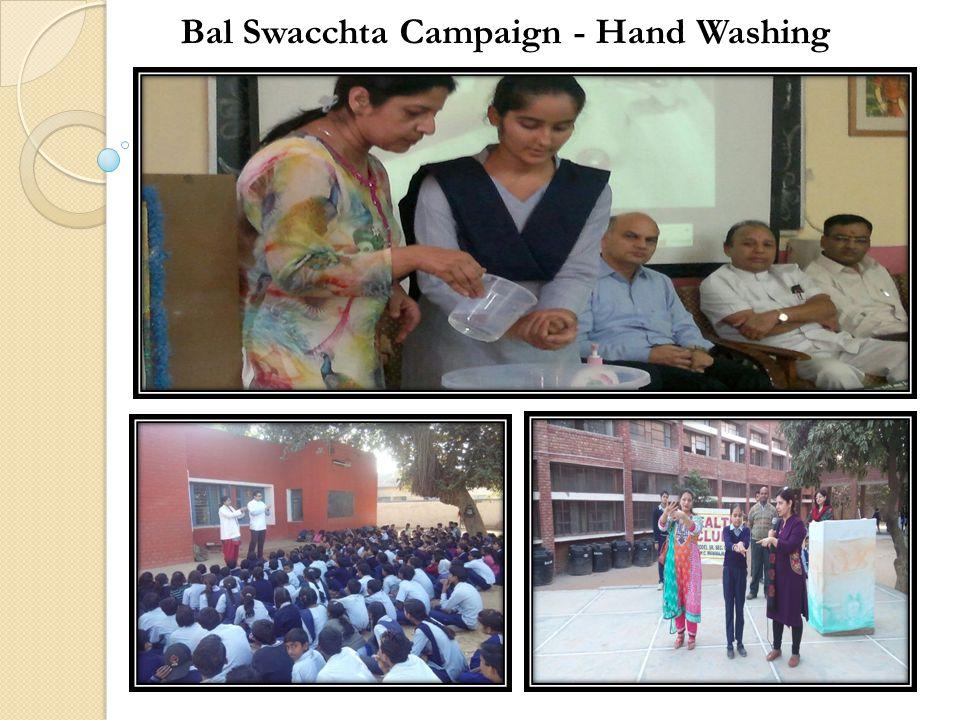 Bal Swacchta Campaign - Hand Washing