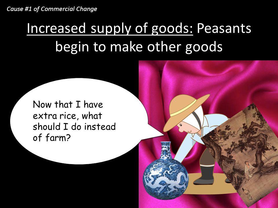 Surplus of Rice! Surplus: extra amount of something
