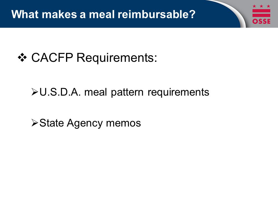 Menu Planning: Creating Nutritious & Reimbursable CACFP Meals