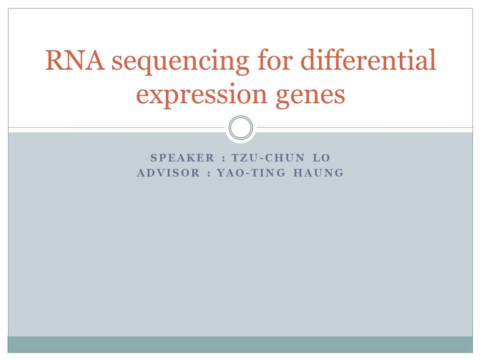 FPKMcasecontrol Gene 19.3414.75 Gene 222.3115.37 Gene 340.4853.98 ……… Var(FPKM)casecontrol Gene 163.6 Gene 2136132.8 Gene 3120.6109.3 ……… T-testGene 1Gene 2Gene 3… p-value0.1870.0390.014…