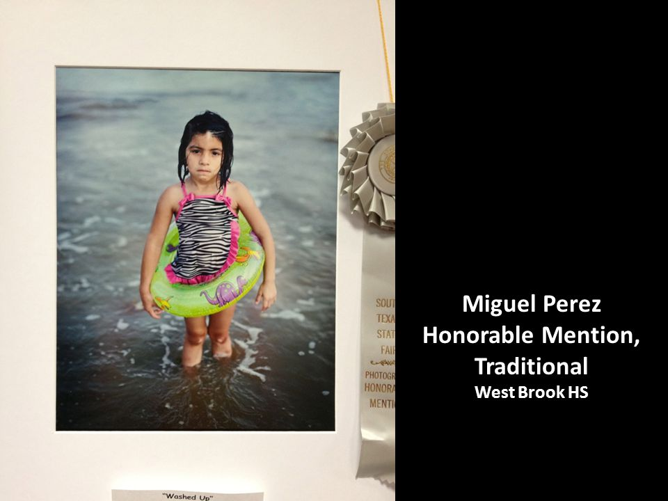 Miguel Perez Honorable Mention, Traditional West Brook HS