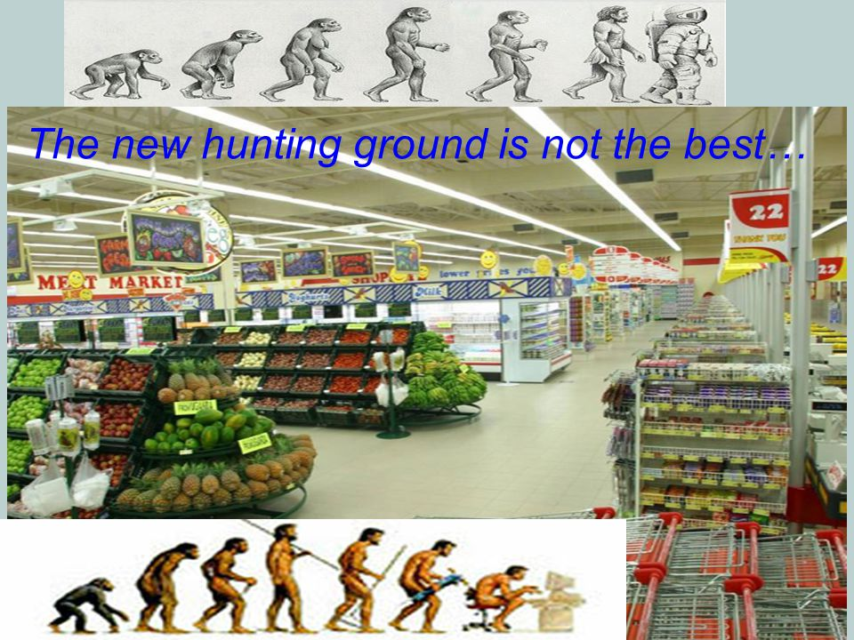 2 The new hunting ground is not the best…