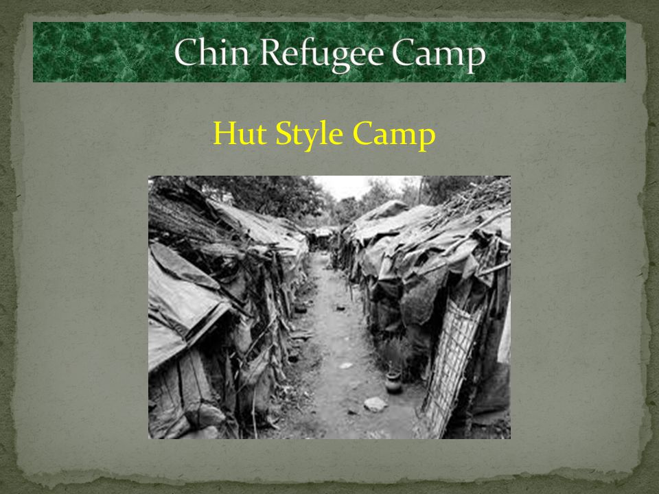 Primitive Refugee Camp