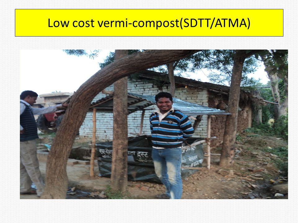 Low cost vermi-compost(SDTT/ATMA)