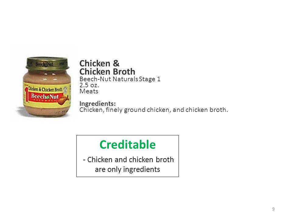 Chicken & Chicken Broth Beech-Nut Naturals Stage 1 2.5 oz.