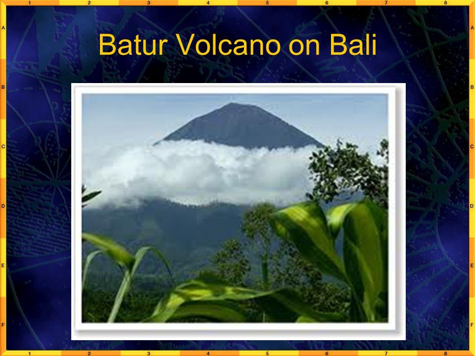 Batur Volcano on Bali
