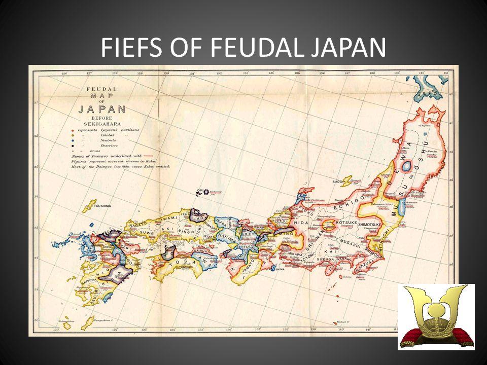 FIEFS OF FEUDAL JAPAN