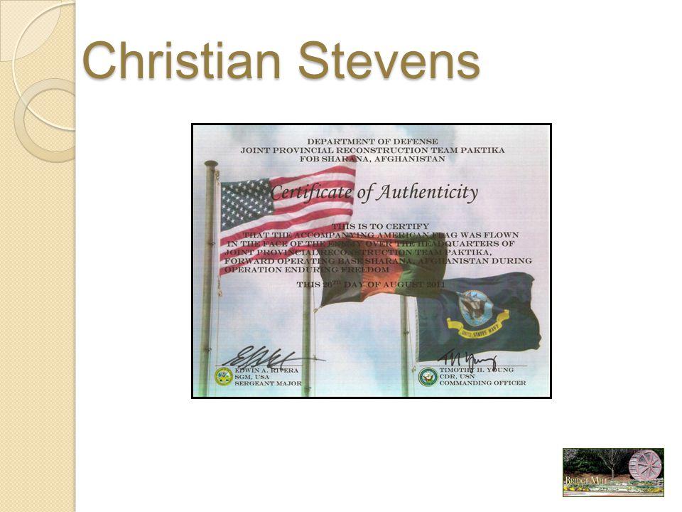 Christian Stevens