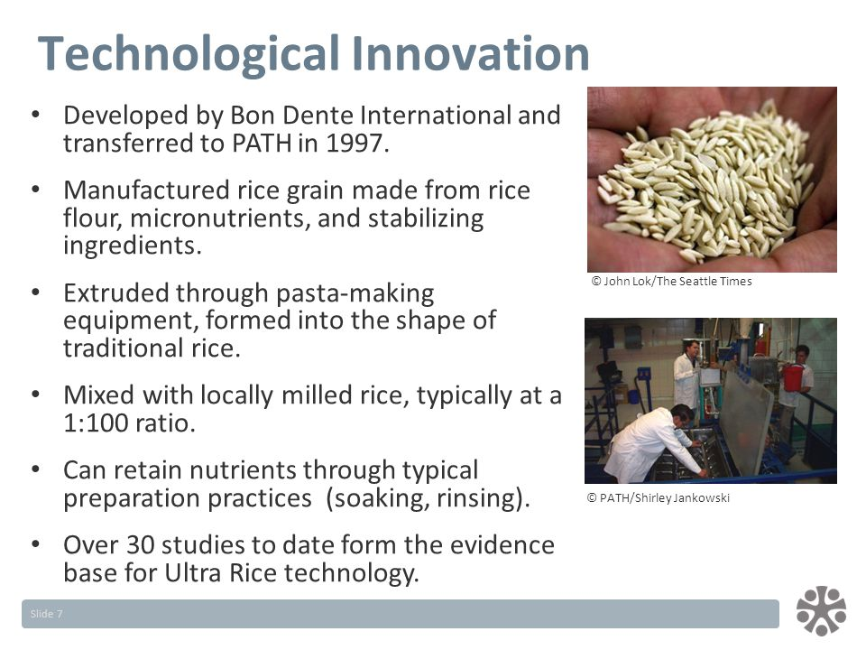 Slide 7 Developed by Bon Dente International and transferred to PATH in 1997.