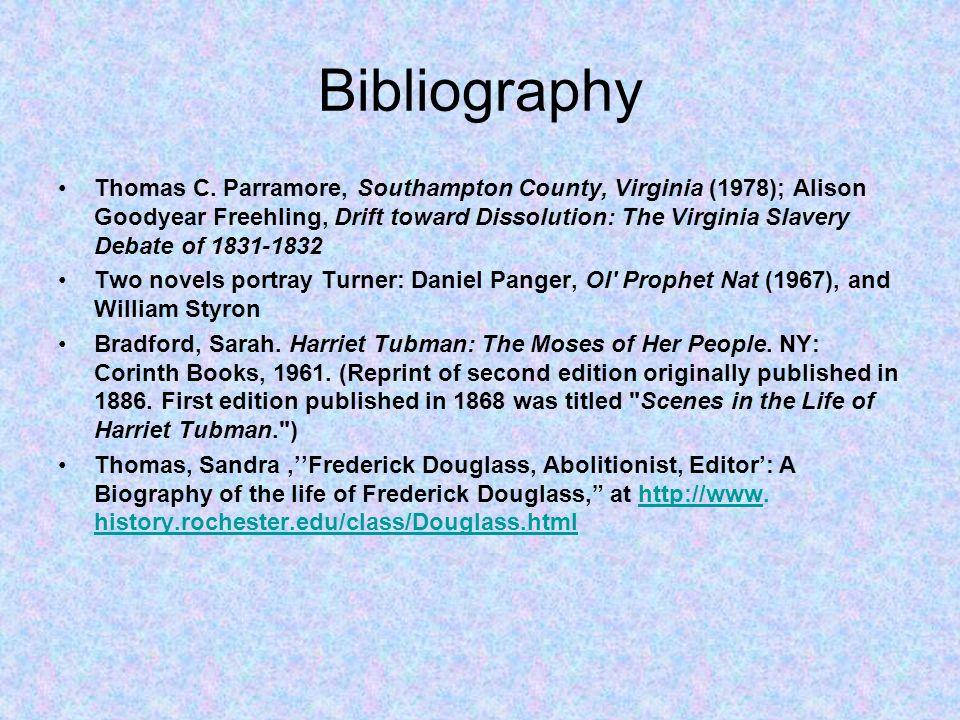 Bibliography Thomas C.