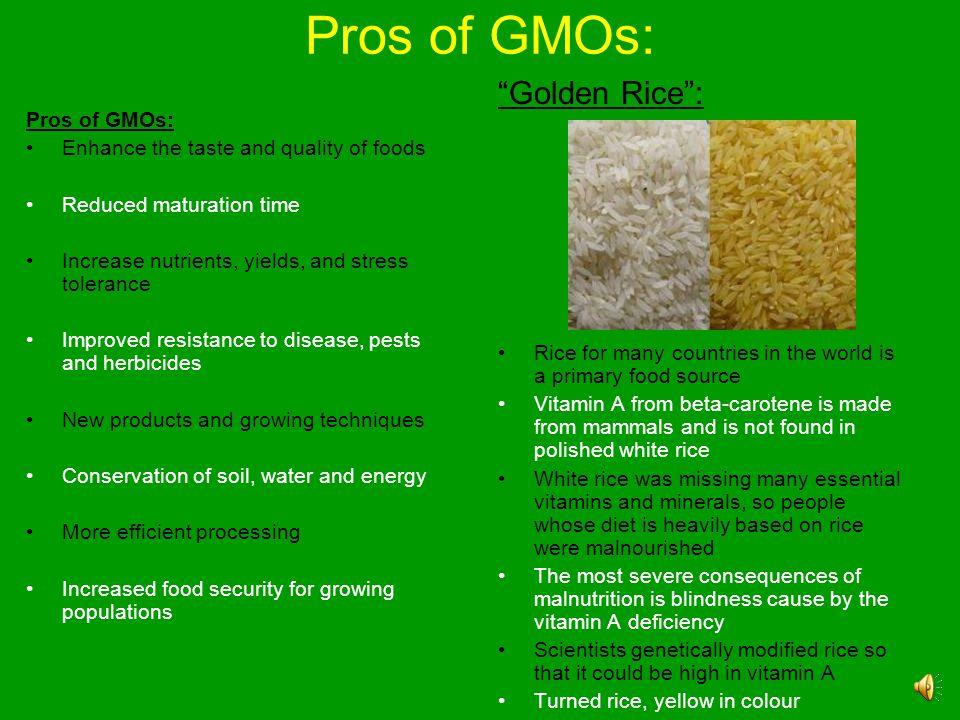 Contd. Modified TraitCrop Input Traits Herbicide resistanceSugar beet, Soybean, Corn, Canola, Cotton, Flax Insect/herbicide resistanceCorn Insect resi