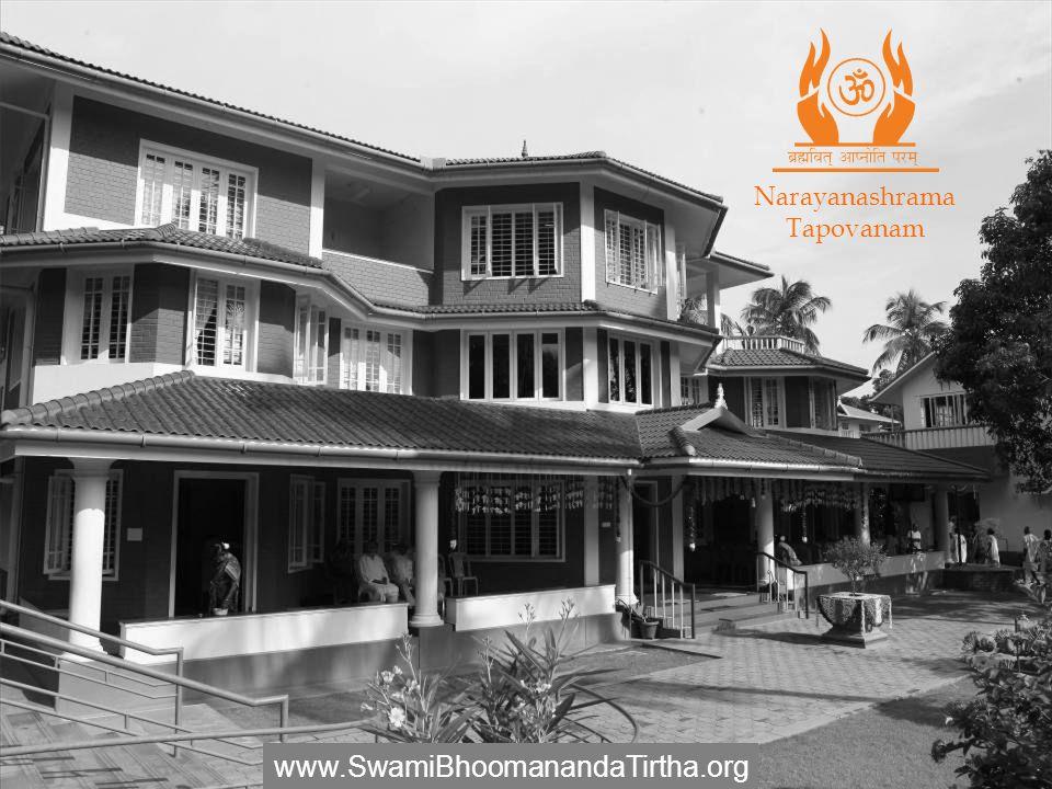 Narayanashrama Tapovanam www.SwamiBhoomanandaTirtha.org
