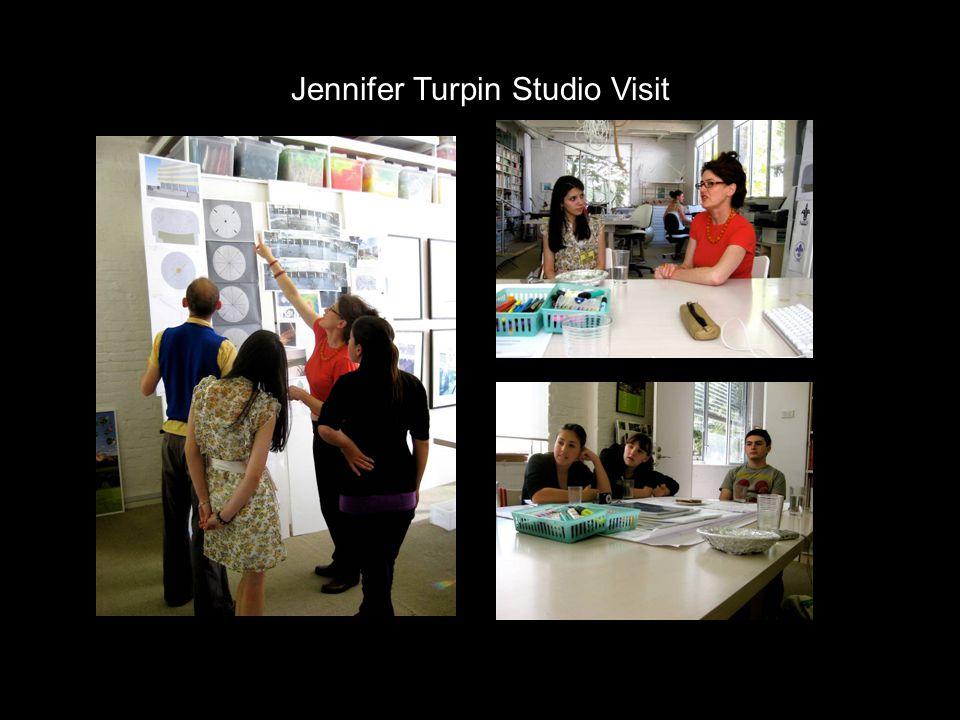 Jennifer Turpin Studio Visit