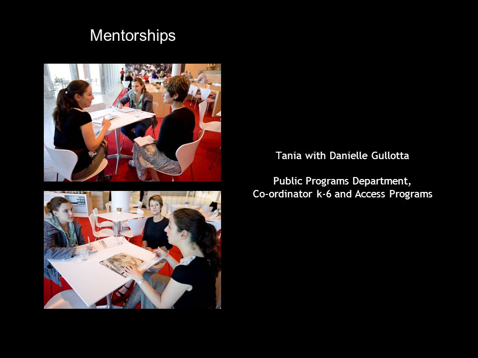 Ruaa with Analiese Cairis Graphics Department, Senior Graphic Designer Mentorships