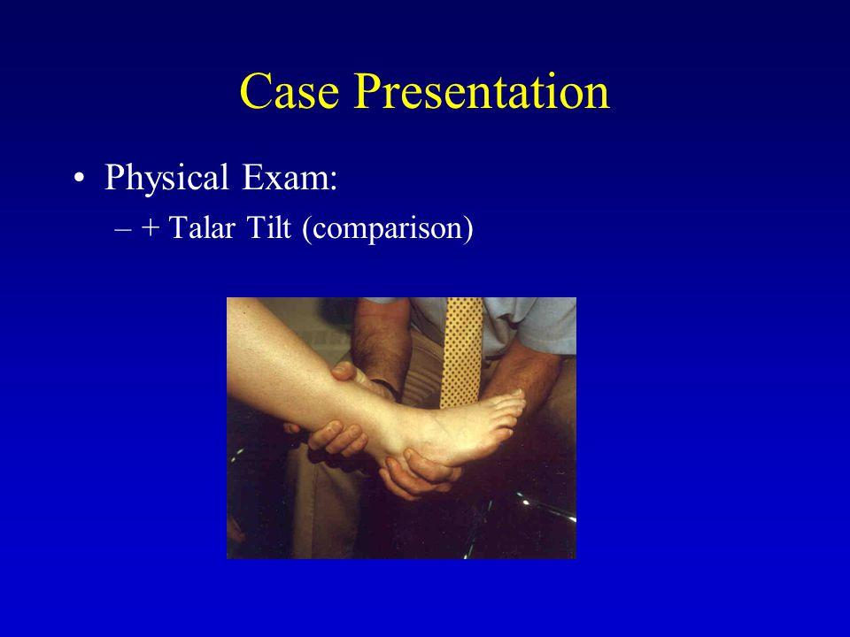 Associated Pathology Okuda et al., AJSM 2002 –63% chondral lesions Hintermann et al., AJSM 2005 –66% chondral lesions ANKLE ARTHROSCOPY  VITAL ADJUNCT PROCEDURE