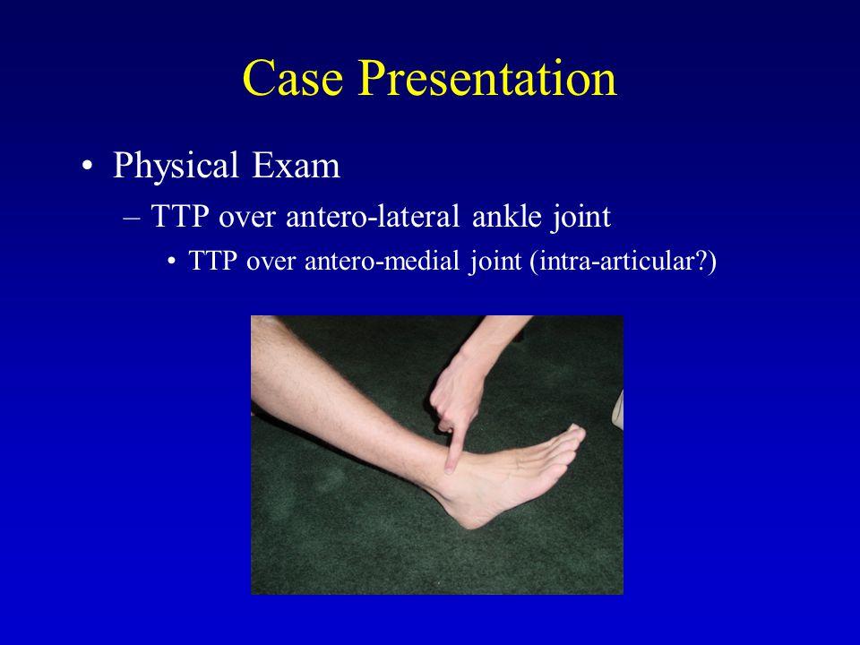 Associated Pathology Tarsal Coalition  Resection/Arthrodesis Dislocating Peroneal Tendons  Repair