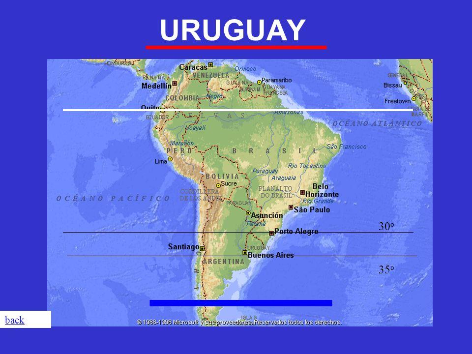URUGUAY 30 o 35 o back