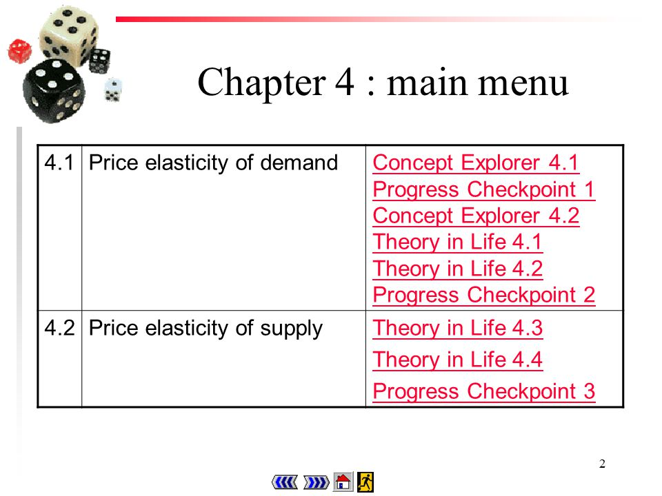 12 Theory in Life 4.2 u When the fare is increased to P2, quantity demanded decreases to Qd2 while quantity supplied increases to Qs2.