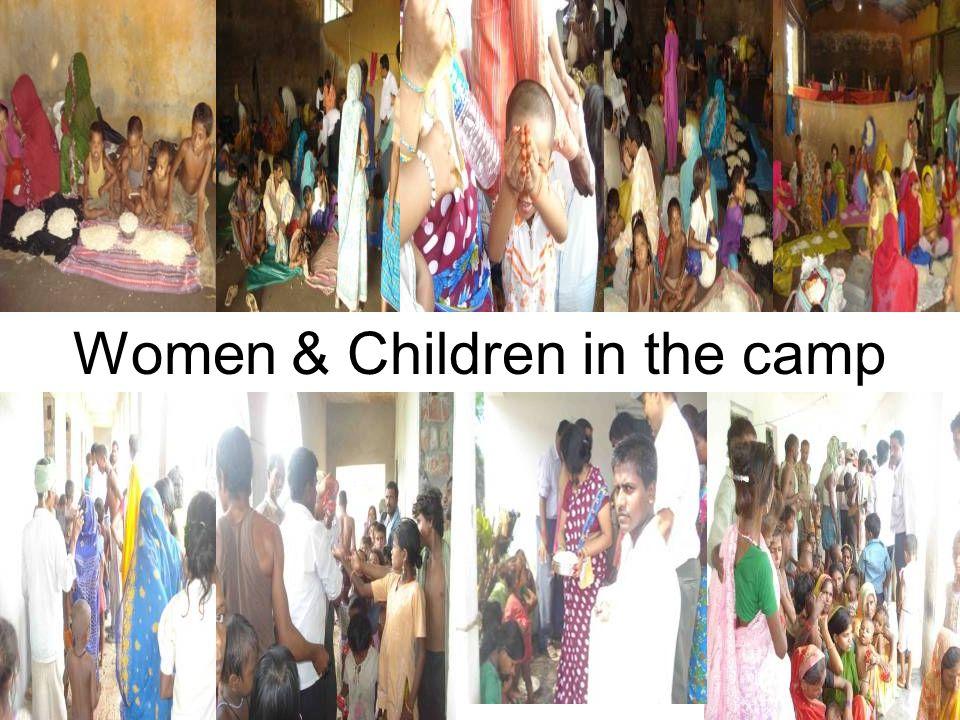 Women & Children in the camp