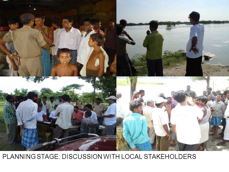 PLANNING STAGE: DISCUSSION WITH LOCAL STAKEHOLDERS