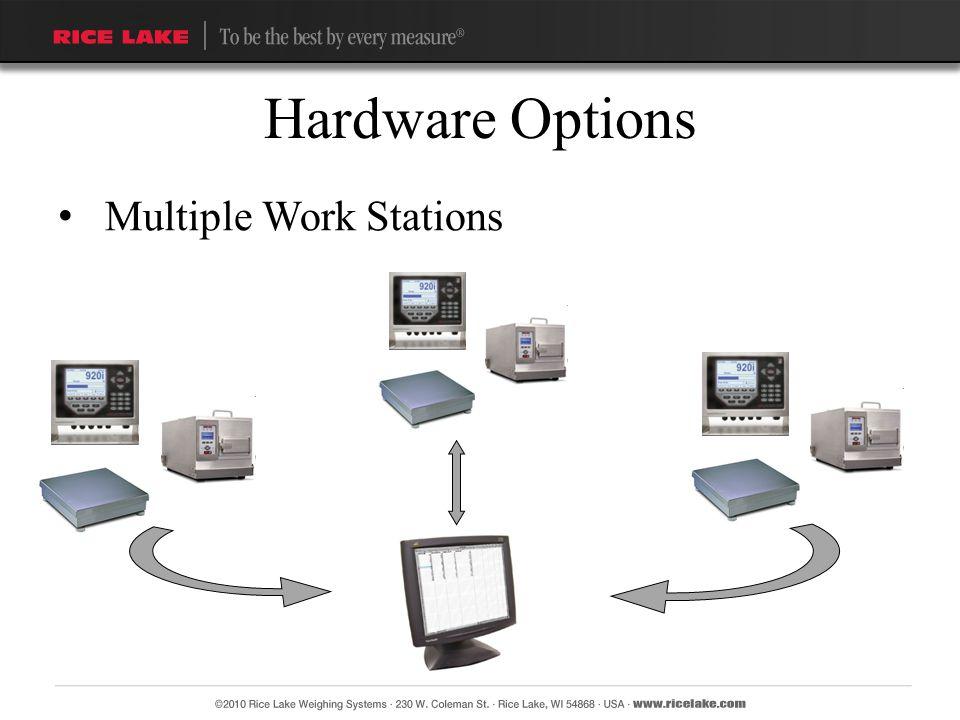 Multiple Work Stations Hardware Options