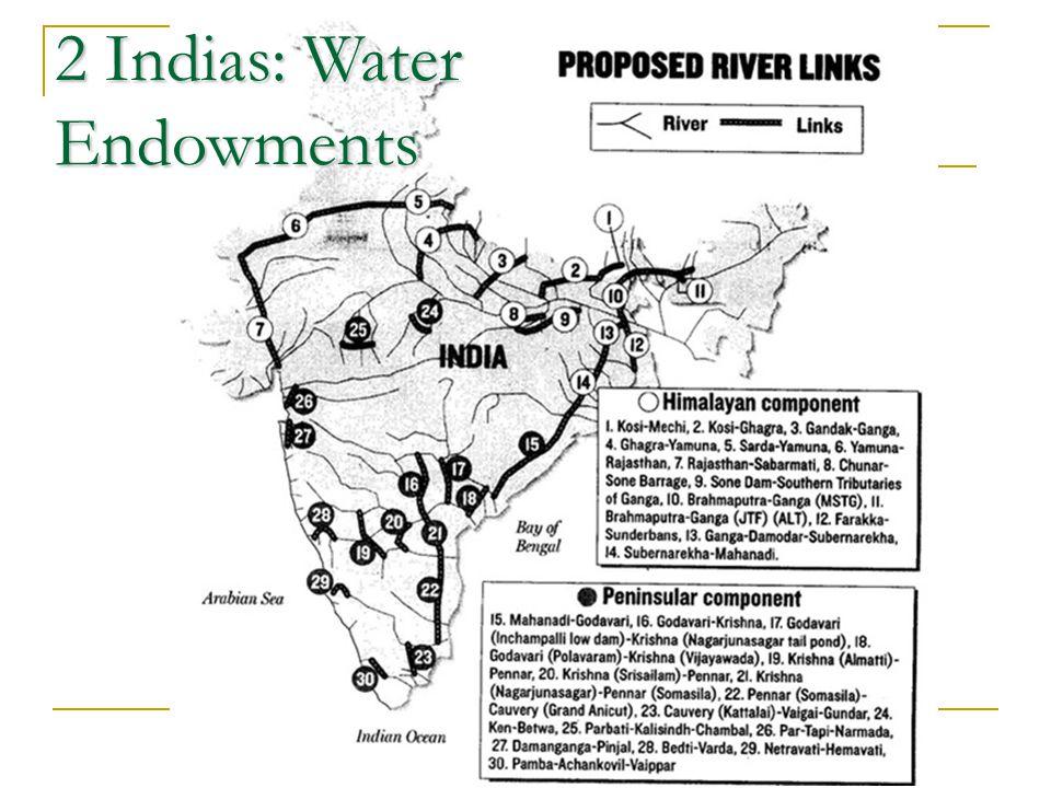 2 Indias: Water Endowments